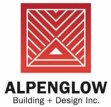 Alpenglow building and design new logo