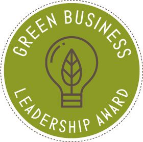 New Green Business Leadership Award Logo