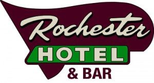 Logo for the Rochester Hotel