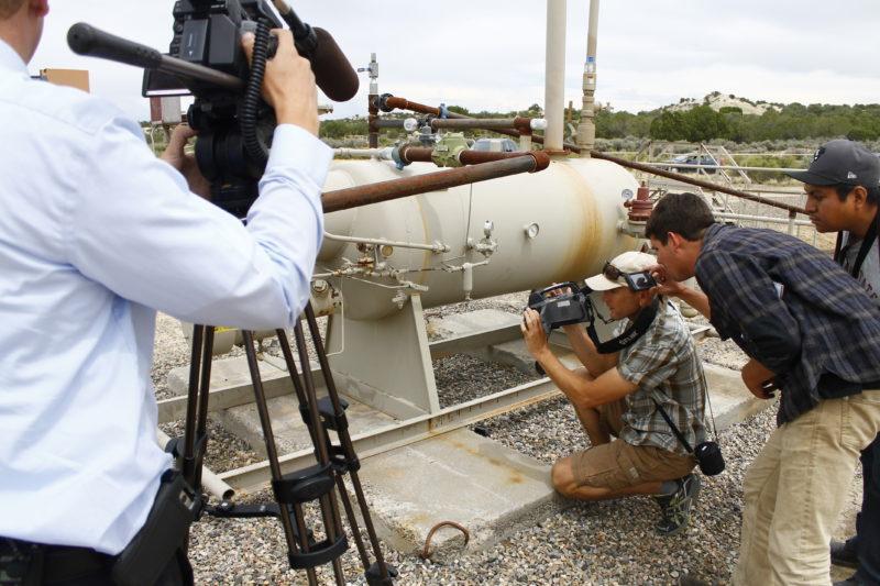 Methane FLIR Camera Photo