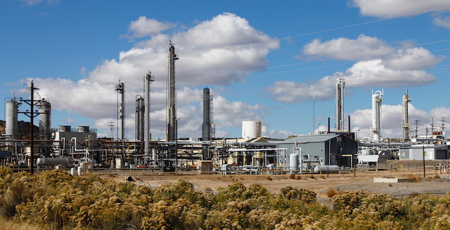 Natural Gas Processing Plant in NM
