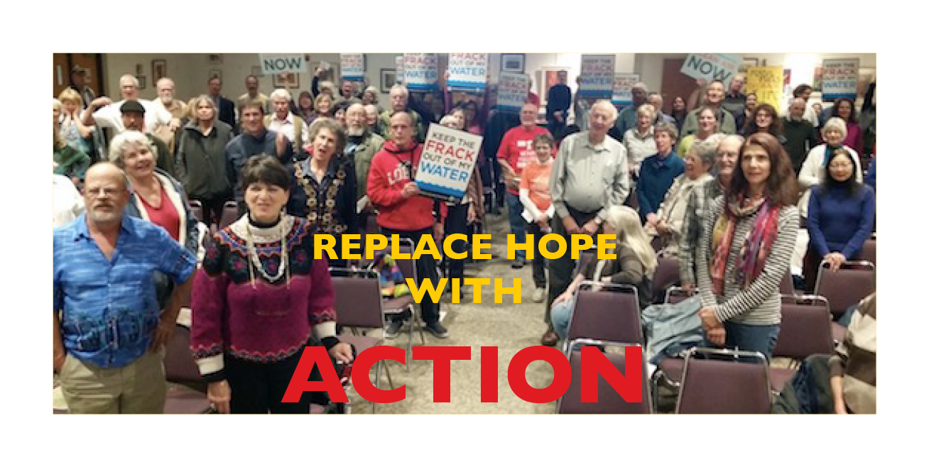 Replace Hope with Action Image