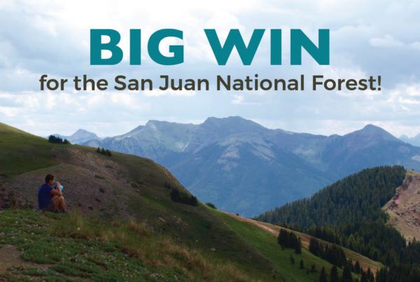 Big Win for San Juan National Forest