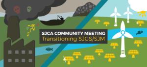 Banner for SJGS Meeting