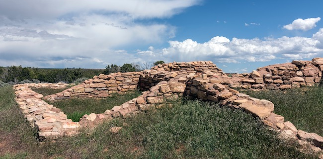 Ruins of Lowry Pueblo in CANM