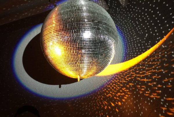 Photo of Disco Ball and shadow